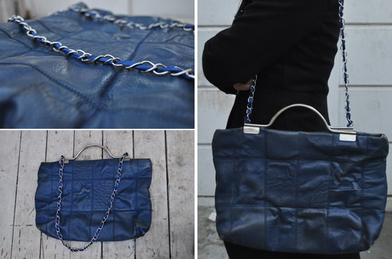 DIY chain bag