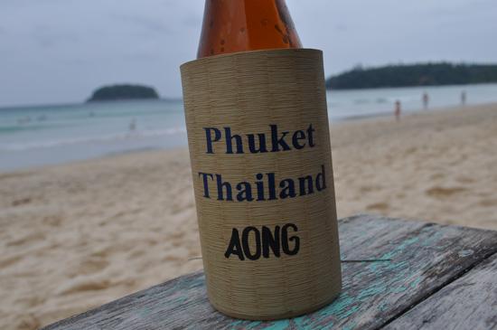 Beer at Kata Beach, Phuket
