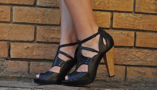Luella Leather platforms