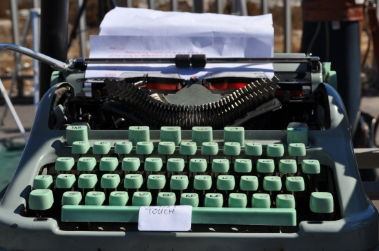 Vintage Typewriter at Milnerton Market