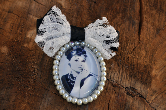Audrey Hepburn Brooch