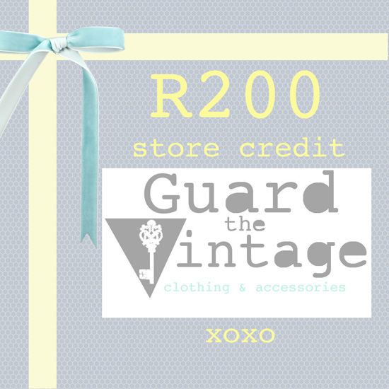 Guard The Vintage Giveaway on Embracing Style