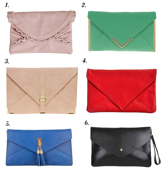 Envelope Clutch Bags
