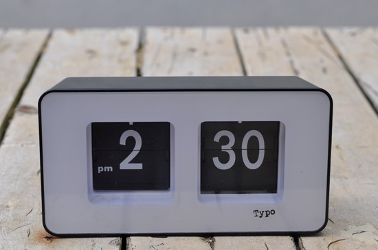 Flip clock from Typo
