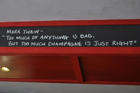 Slug and Lettuce Newlands - Chalk quotes