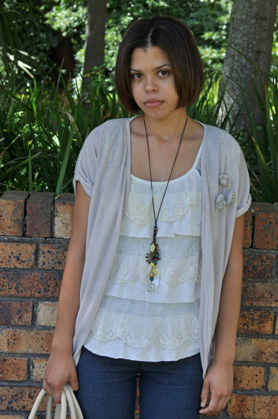 Abigail Personal Style - Tiered Top