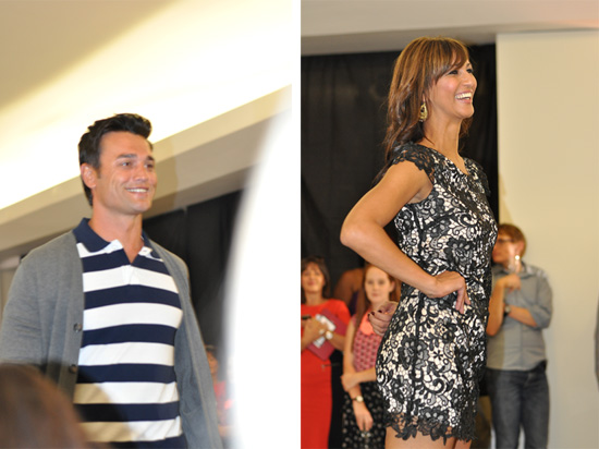 Celebs modelling Stuttafords clothing, Former Mr South Africa and Tanya Nefdt