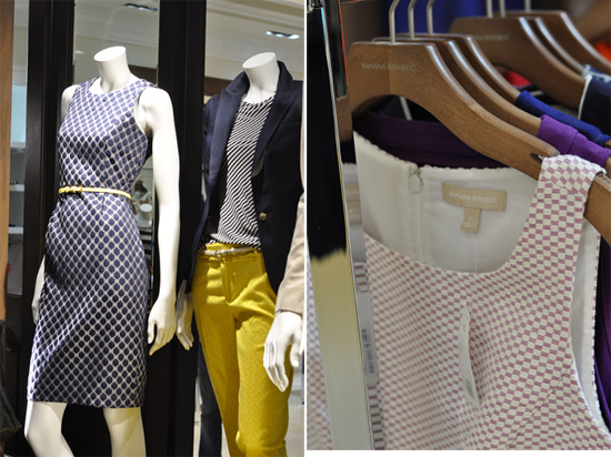 Banana Republic clothing,  Cavendish Square