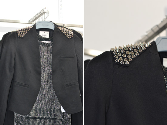 Jorge Spiked Jacket at Stuttafords Emporium, Cavendish Square