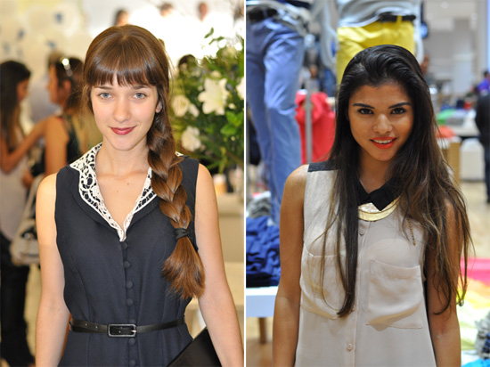Bloggers at the Stuttafords Emporium Launch in Cavendish Square, Nicole of Vintage Lifestyle Magazine and Aisha of Baked the Blog