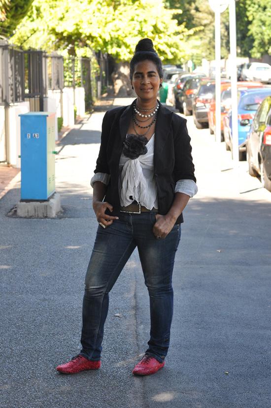 Personal Style, Tania May,  Boyfriend Blazer