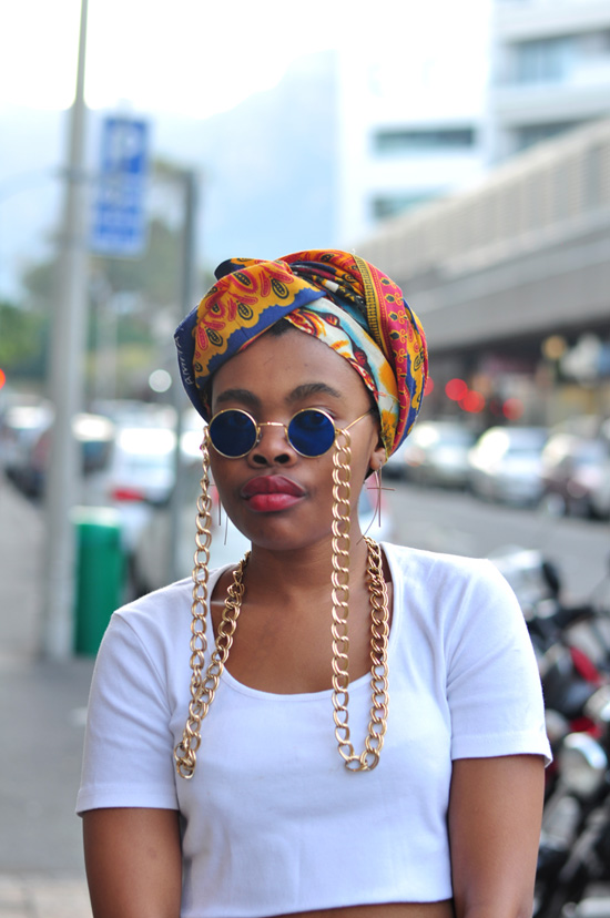 cape town street style, south africa street style, chain sunglasses