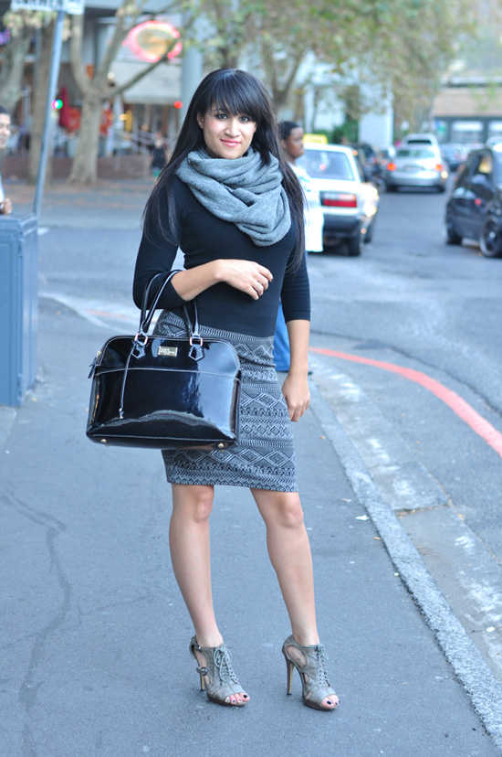 cape town street style, south africa street style, patent leather bag