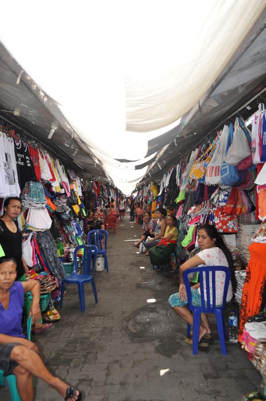 Bali - A Kuta market