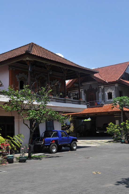 Balinese home architecture