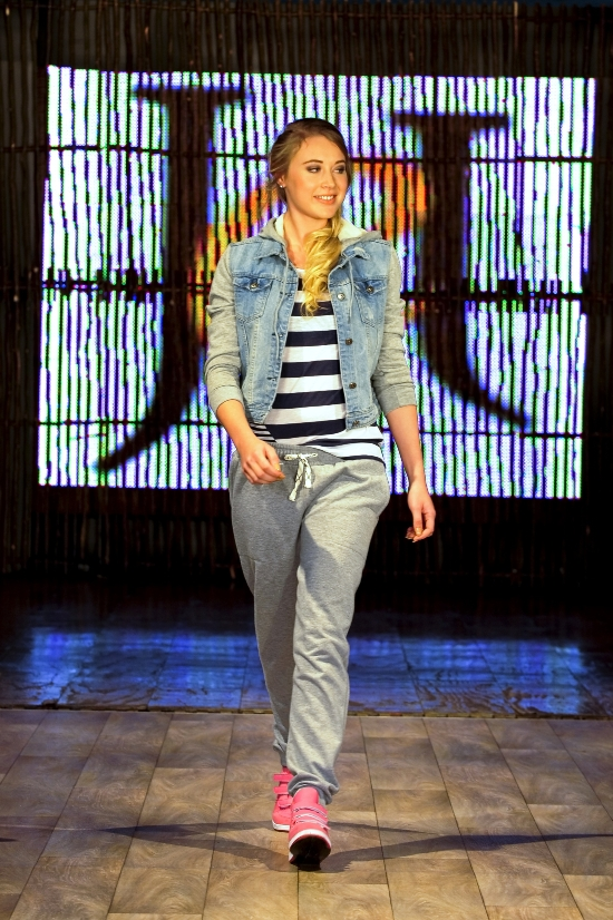 Model wearing casual look at The Jet Winter Launch 2014