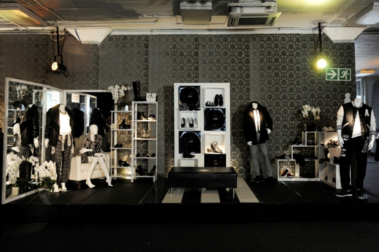 Monochrome items at The Jet Winter Launch 2014