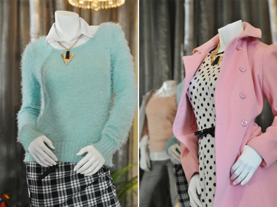 Pastel looks at The Jet Winter Launch 2014