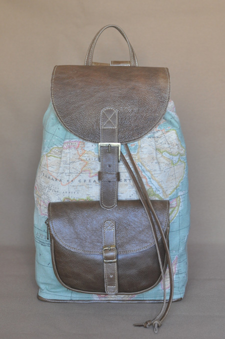 The Wanderlust Backpack by Double Edge