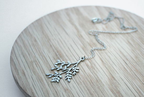 Branch Necklace By Trinket Design