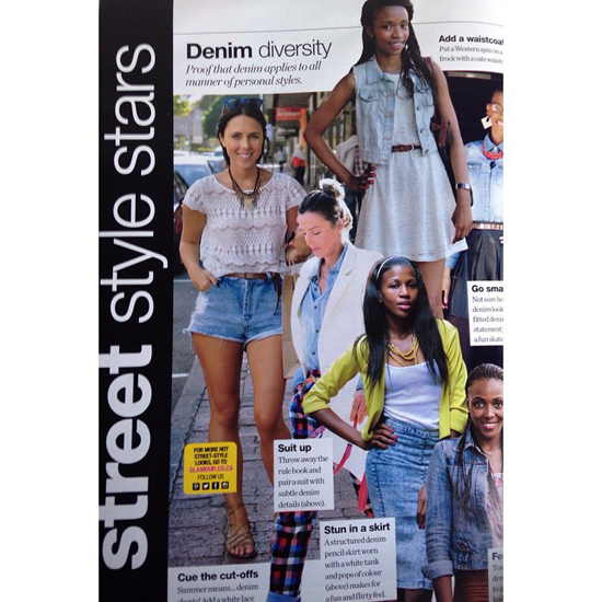 Embracing Style Street Style in Glamour Magazine November 2014