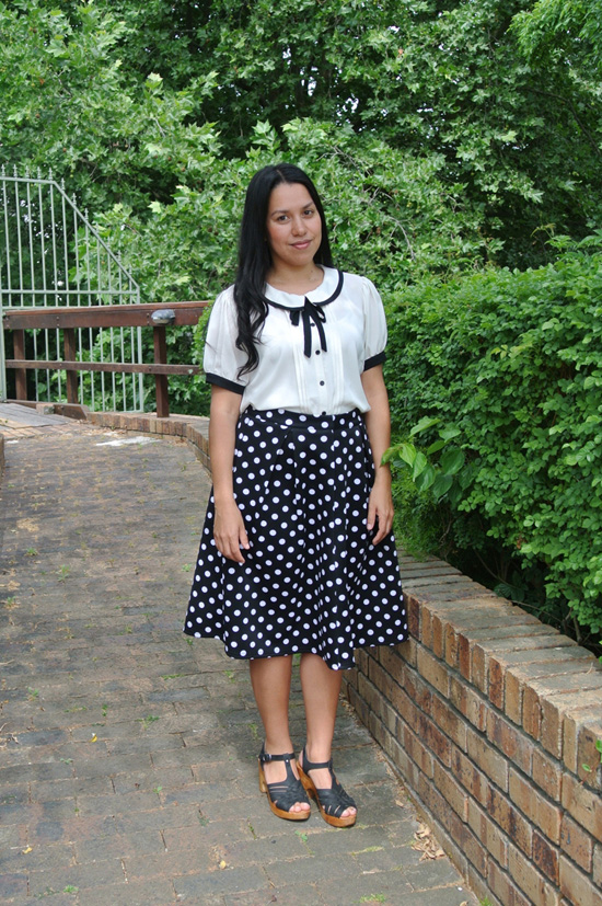 monochrome outfit 1