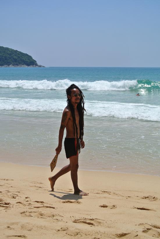 Embracing Thailand - Nai Harn Beach Local