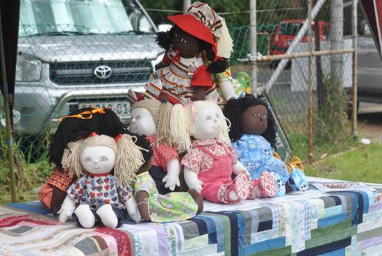 Kirstenbosch Craft Market- Handmade dolls
