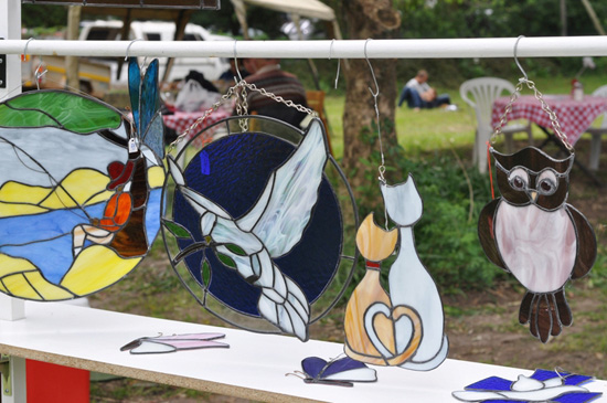 Kirstenbosch Craft Market - stained glass