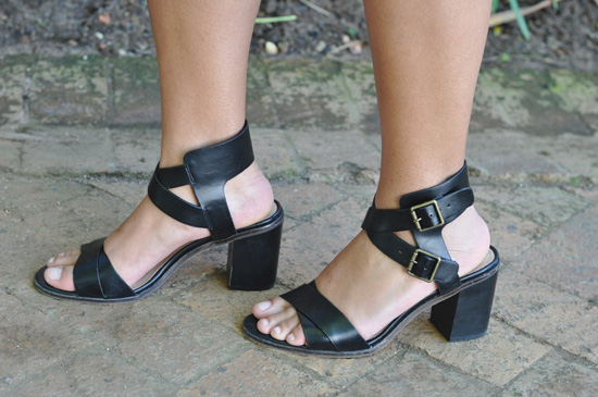 Embracing Style Outfit - Zara Black Heels Shoes