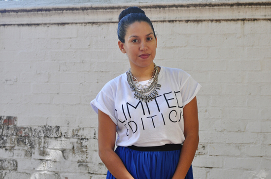 Embracing Style Outfit - Mr Price Cobalt Blue Skirt