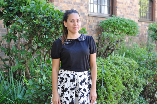 Embracing Style - Outfit Post - Splatter Skirt